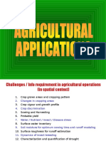 USE OF REMOTE SENSING IN AGRICULTURAL APPLICATION