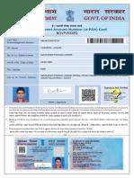 Vijendra PAN Card