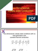 Conduction 2 Dimension