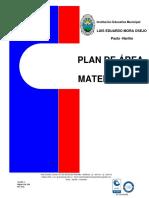 PLAN DE ÁREA Y AULA  DE MATEMATICAS  2019.docx