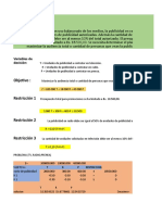 excel documento