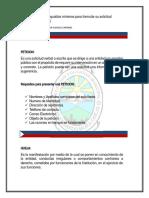 Lineamientos para realizar PQRS