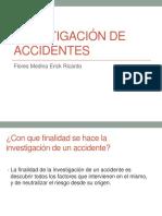 Presentacion Investigacion de Accidentes