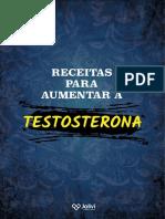 Receitas para aumentar a Testosterona