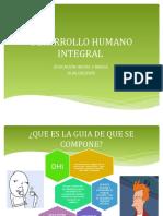 Desarrollo Humano Integral Diapos