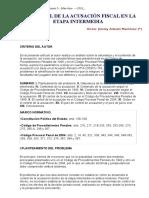 Control de La Acusacion Etapa Intermedia - Victor