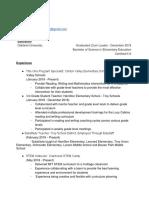 alessandra aprea teaching resume - updated   1