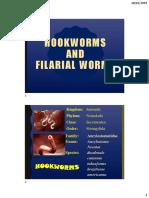 1BIO 030 Lecture 4B Nematodes - Hookworms & Filarial Worms