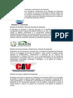 14 Ministerios de Guatemala Con Definición