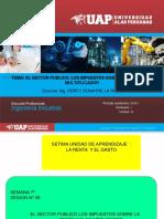 EL SECTOR PUBLICO, LOS IMPUESTOS  Y EL MULTIPLICADOR