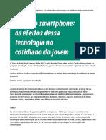 Tema de Redação Geração Smartphone