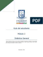 Guia Del Estudiante Módulo 2 DIDACTICA GENERAL