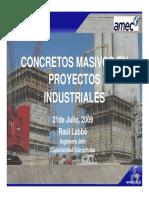 I-01 Carrasquillo - Fundamentos Del Diseno, Construccion e Inspeccion en Obras de Concreto Masivo