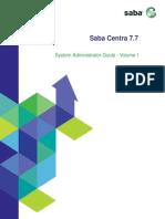 Centra 7.7 System Administrator Guide (Volume I)