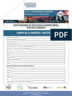 Cuestionario de Excelencia Empresarial