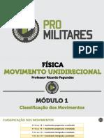 Classificacao Dos Movimentos