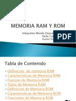 Diapositivas RAM Y ROM