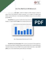 Tranzactii de Petrol La Nivel Intrnational