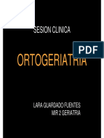 Caso clínico Ortogeriatria