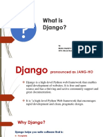 What is Django_Madhu