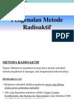 Materi 5 - Metode Radioaktif