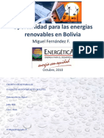 energia renoovables bolivia