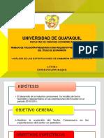 ANÁLISIS DE LAS EXPORTACIONES DE CAMARÓN  PERIODO 2010-2014.ppt
