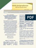 Boletín Informativo N° 6 del 12 de abril de 2019
