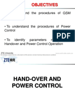 ZTE Handover and Power Control