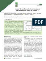 Aqueous RAFT Polymerization of Glycopolymers