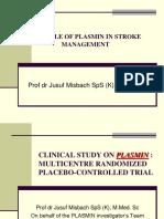 Plasmin for Enhance Improvement in Acute Ischaemic Sroke - Smrg Nop 2012