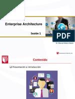 Clase Anexo 01 - enterprise architecture