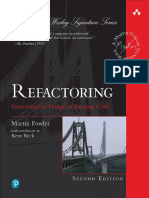 Martin Fowler - Refactoring Improving the Design of Existing Code (2018, Addison-Wesley Object)
