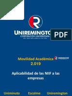 NIIF Aplicadas a La Empresa - Uniminuto