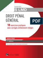 Partiels blancs Semestre 2, 2019 - Droit Pénal - Exos LMD