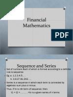 PowerPoint presentation on Financial Mathematics
