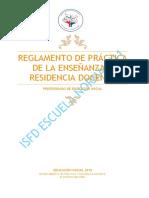 Regalmento de Practica y Residencia2019