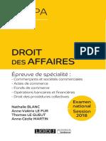 Partiels blancs Semestre 2, 2019 - Droit Des Entreprises en Difficulté - Collection CRFPA
