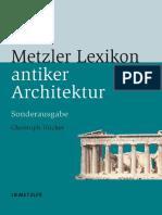 Metzler-Lexikon antiker Architektur. Sachen und Begriffe.pdf