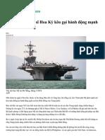 Ba Thượng Nghị Sĩ Hoa Kỳ Kêu Gọi Hành Động Mạnh Hơn ở Biển Đông