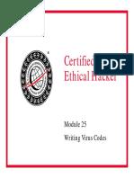 CEHv6 Module 28 Writing Virus Codes