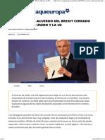 Las Claves Del Acuerdo Bresxit