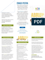 Brochure prevención abuso infantil