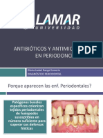 Antibioticos y Antimicrobianos en Period