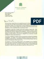 Letter to Sajid Javid MP0001