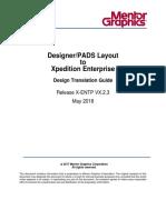 DX-PADS to X-EnTP Design Translation Guide VX.2.3
