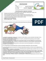 Lista de Exercícios de Geografia Profº Yuri 9º Ano p2 i Bim