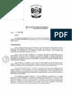 RESOLUCION DE DIRECCION GENERAL N° 122-2016-SERFOR-DGGSPFFS(1)