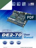 DE2 70 User Manual v101