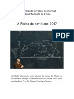 A Física Do Cotidiano 2017